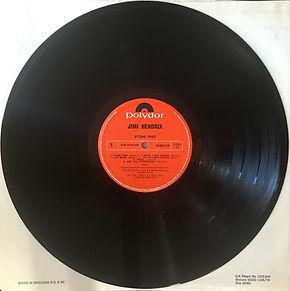 jimi hendrix collector vinyl lp / stone free  1980