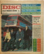 jimi hendrix newspaper/disc music echo 27/4/68