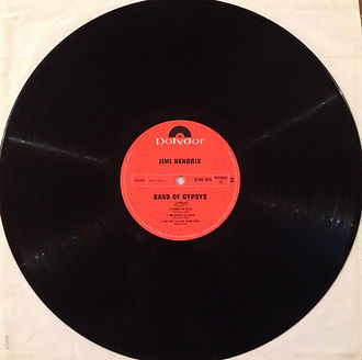 jimi hendrix rotily vinyls collector /band of gypsys 1970 side 2