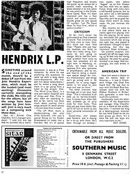 jimi hendrix rotily magazine/may 67