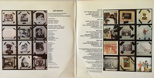 jimi hendrix vinyls albums lps / sound track recordings from the film  england 1973