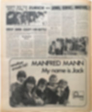 jimi hendrix newspapers/new musical express june 8 1968/zurich with jimi,eric,move,.......