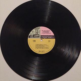 jimi hendrix collector vinyls lp /are you experienced mono canada 1967
