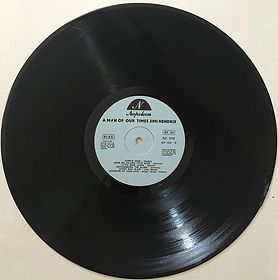 jimi hendrix vinyls bootlegs 1970 /side b : jimi hendrix volume 2° a man of our time