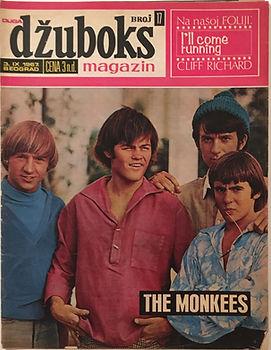 jimi hendrix collector magazine/dzuboks september 1967 yougoslavia/hendrix article/photo