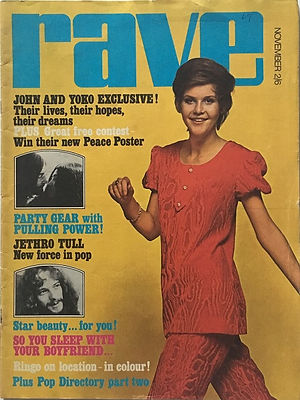 jimi hendrix magazines 1969/rave november 1969