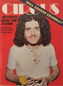 jimi hendrix magazines 1970 / circus august 1970
