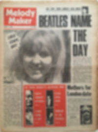 jimi hendrix newspapers/melody maker august 17 1968