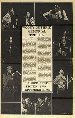 jimi hendrix newspaper 1970 / new york post : september 18, 1970 / los angeles free press review otis jimi