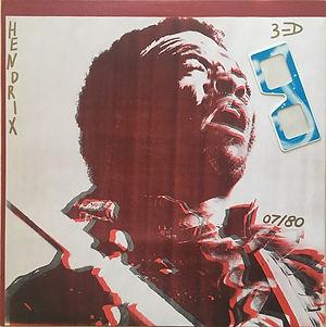 jimi hendrix bootlegs vinyls 1970 /  jimi hendrix/clapton/mayall/bruce/baker  3/D