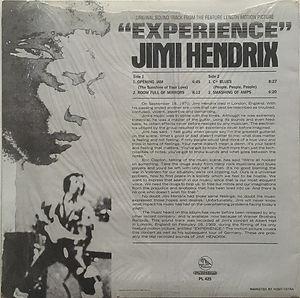jimi hendrix vinyls reissue /  experience : pellicano  1980