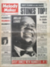 jimi hendrix newspaper/melody maker june 15 1968/woburn music festival
