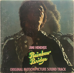 jimi hendrix album vinyls/rainbow bridge italy 1971