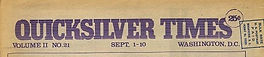 jimi hendrix newspapers 1970 / quicksiver times  sept. 1, 1970