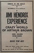 jimi hendrix collector memorabilia/saville theatre jimi hendrix experience/8/10/1967