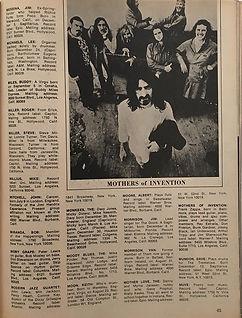 jimi hendrix magazines 1970 / pop directory1970 mitch mitchell/buddy miles