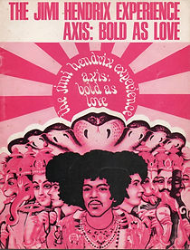 songbook : axis bold as love / jimi hendrix collector vinyls rotily