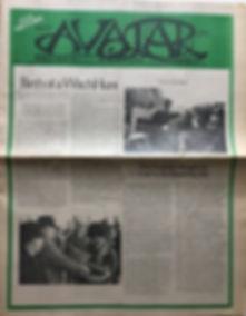 avatar boston/jimi hendrix newspaper/ february 16-29  1968