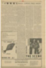 jimi hendrix newspapers/AD:the scene february 28-29 1968