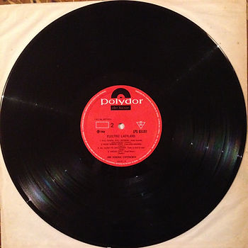 jimi hendrix vinyl album / side 2 electric ladyland  brazil