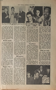 jimi hendrix newspaper 1969/new musical express  dec.27, 1969 / sensational 60's