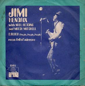 "jimi hendrix vinyls singles/ c""blues/room full of mirrors"