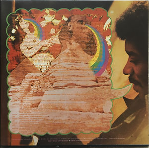 jimi hendrix vinyl album/rainbow bridge