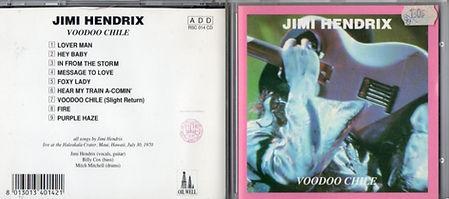 jimi hendrix bootlegs cd /jimi hendrix voodoo chile / 1993