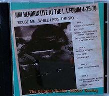 jimi hendrix bootlegs cds 1970 / jimi hendrix scuse me while i kiss the sky 2015
