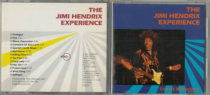 jimi hendrix  cd collector /  live at winterland 1968 japan