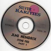 jimi hendrix bootleg cd / disc 2 : stone free