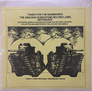jimi hendrix bootlegs vinyls 1970 /  t'anks for the mammaries the amazing kornyfone record label anthology 2lp