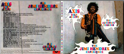 jimi hendrix collector bootlegs cd/axis bold as love/get the experience