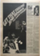 jimi hendrix newspaper/record mirror 3/2/68 ad/get that feeling