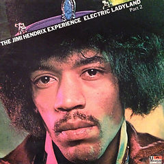 hendrix rotily vinyl collector/ electric ladyland  part 2  1973