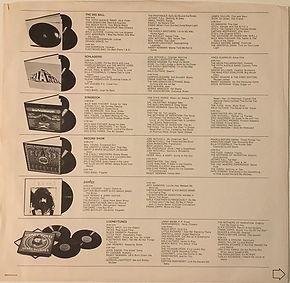 jimi hendrix vinls albums record 1969/ the 1969 waner/record show