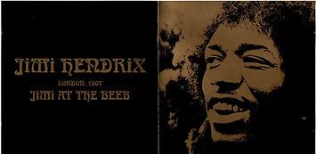 jimi hendrix cllector bootlegs cd/jimi at the beeb london 1967