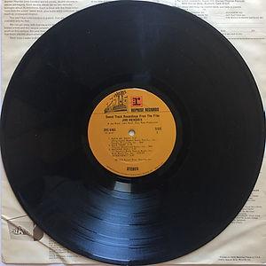 jimi hendrix vinyl album/ jimi hendrix from the film 1973