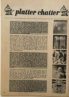 jimi hendrix magazine/hit parader platter chatter july 1968/axis bold as love
