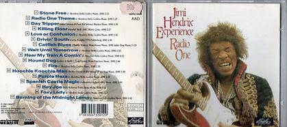 jimi hendrix  cd album / radio one  carrere douglas