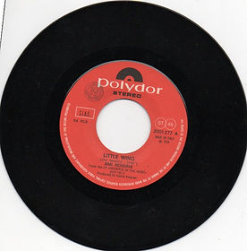 jimi hendrix singles vinyls/little wing italy