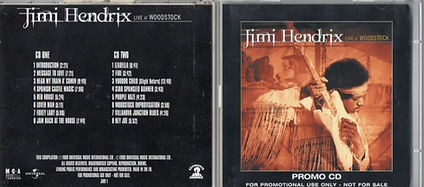 jimi hendrix family edition  /  live at woodstock promo 2 cd