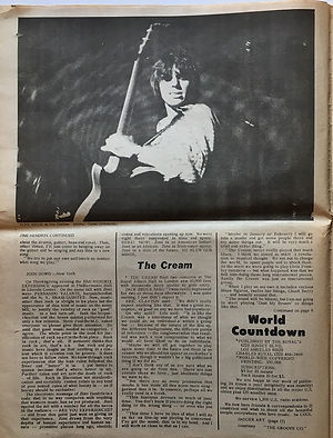 jimi hendrix newspaper 1968/word countdown 1968 december