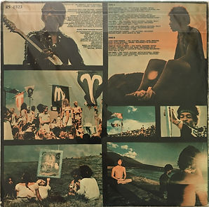 jimi hendrix vinyls album/rainbow bridge greece 1972
