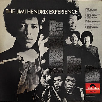 jimi hendrix collector rotily patrick vinyls/AREyou experienced