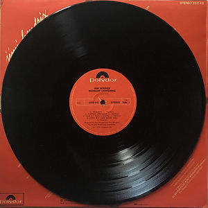 jimi hendrix vinyl album midnight lightning side 1 / 1975 israel