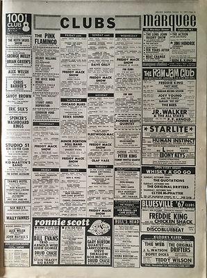 jimi hendrix collector newspaper/21/10/67