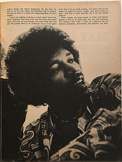 jimi hendrix black power and money/teenset magazine 1969
