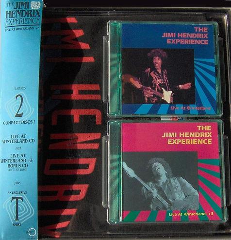 jimi hendrix  cd collector /  live at winterland + 3 : 1968 usa