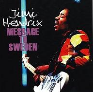 jimi hendrix bootlegs cd / message to sweden 2cd